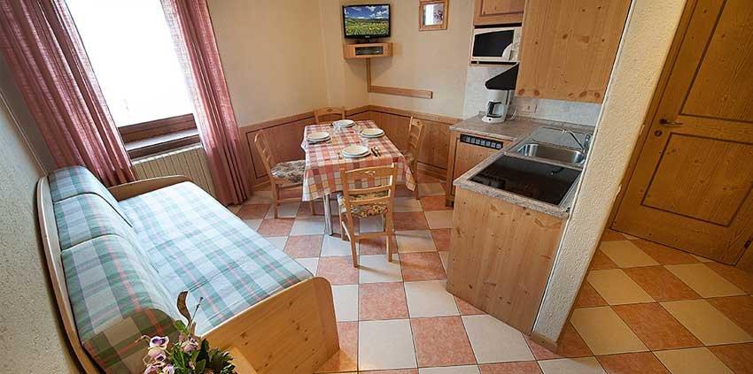 Appartamenti Baita Carosello - Interni appartamento